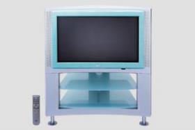 JVC Farbfernseher und Receiver