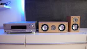 Foto 4 JVC Stereo Receiver Model No. RX-5052S inkl. Soundboxen 5Stück