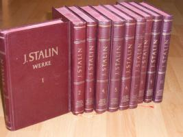 'J. Stalin - Werke' Band 1 bis 10 von 1950