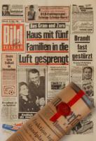 Jahrgangswein, historische Zeitungen, Jahrgangscognac