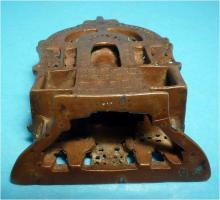 Foto 9 Jaina-Altar, Messingschreine, Hausaltar, Tirthankara Pärsva, Jain-Religion, Indien, Gelbguss, Skulptur, Jainismus,1627