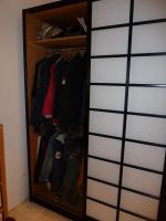 Foto 3 Japanischer Kleidschrank ausmassiver Buche mit Schiebetüren