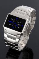 Jay Baxter Matrix Navigator Uhr b750 für Herren mit blauen Zeigern Top Neuware!!