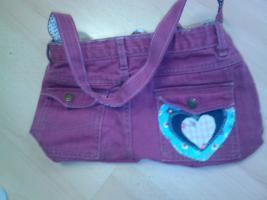 Foto 2 Jeans Handtasche