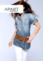 Jeans-Longbluse blau von APART Gr. 32 - OVP - NEU