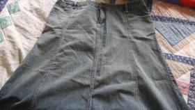 Jeans-Rock  Größe 48