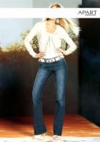 Jeans mit Strass blau - Größe 36 - OVP - NEU