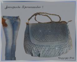Jeanstasche Sternenhimmel 1