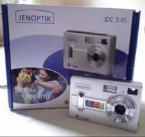 Jenoptik JD C 3.0S Kamera, 3 Megapixel Digital Kamera, silber