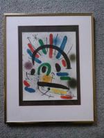 Foto 2 Joan Miró: Original-Farblithographie, gerahmt