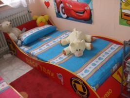 Jugendbett Rennwagen