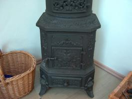 Foto 3 Jugendstil Ofen Kamin Antik Sammler Dekoration