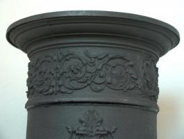 Foto 4 Jugendstil Ofen Kamin Antik Sammler Dekoration