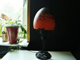 Foto 2 Jugendstil Tischlampe