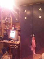 Foto 2 Jugendzimmer in Buche mit blauen Fronten