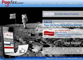 July - Facebook Wettbewerb bei Popfax