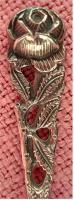 Foto 2 Justinus Solingen Set 24 Teile, 90 g Silber, Hildesheimer Rose