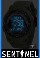 Foto 3 KHS Militär Uhr, KHS Sentinel DC - Digital Alarm Chronograph mit Digital Compass