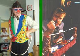 KINDERPROGRAMME -mäusezirkus-zauberclown wünscht frohe weihnachten