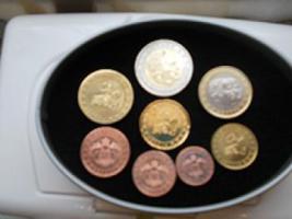 KMS Monaco (1cent - 2 Euro) unzirkuliert