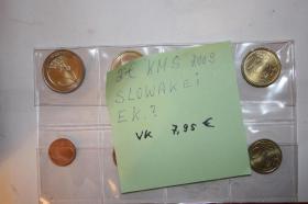 KMS Slowakei 2009 bfr nur 8,95 EUR + Porto