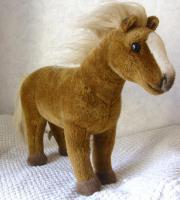 KÖSEN Haflinger Pferd 35 cm Handarbeit hochwertige Qualität