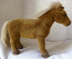 Foto 2 KÖSEN Haflinger Pferd 35 cm Handarbeit hochwertige Qualität