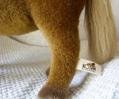 Foto 3 KÖSEN Haflinger Pferd 35 cm Handarbeit hochwertige Qualität