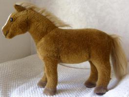 Foto 6 KÖSEN Haflinger Pferd 35 cm Handarbeit hochwertige Qualität