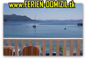 Foto 6 KROATIEN TRSTENIK Ferienwohnung  direkt am Meer mit Video