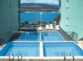 Foto 4 KROATIEN Trogir Ferien-Wohnungen mit Pool und Meerblick