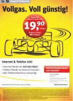 Kabel-Power-Internet bis 100 Mbit/s zum Spartarif