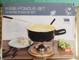 Käse- & Schoko Fondue Geschirr Set NEU & OVP 21 Teile überkomplett!