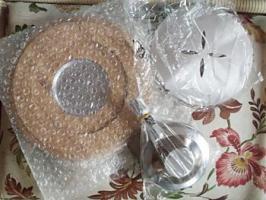 Foto 6 Käse- & Schoko Fondue Geschirr Set NEU & OVP 21 Teile überkomplett!