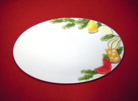 Käseplatten aus italienischer Keramik