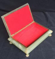 Foto 2 Kästchen Dose Box Schatulle aus Onyx