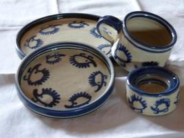Kaffee Geschir Igel Muster