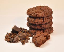 Kaffee Schokoladen Cookies mmm.