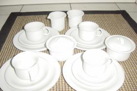 Kaffee-Service,37-teilig, weiß, ähnlich Thomas Trend