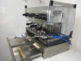 Kaffeeespressomaschine Schärf mit Kaffeemühle