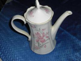Foto 2 Kaffeekanne rosa/weiß Design