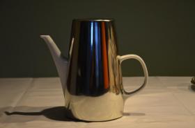 Foto 3 Kaffeekanne mit silberfarbenem Wärmeüberzug