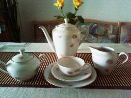 Kaffeeservice für 6 Personen Porzellan