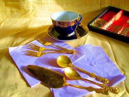 Foto 2 Kaffeetafelgarnitur by PACINI, Kaffeelöffel , Besteckset