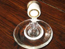 Foto 5 Kaltwasser-Armatur weiß/goldfarben f. Gäste-WC, Seifenhalter u.a.