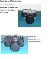 Kameras und Fotoapparate