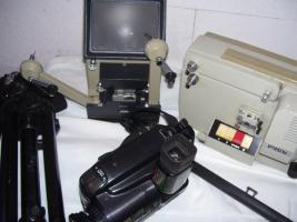 Foto 3 Kamera´s, Fotoaparate, Wiedergabeprojektor 8mm /DDR an Liebhaber