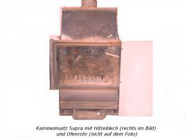 Kamineinsatz Supra mit Gussplatte