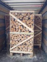 Foto 2 Kaminholz Buche Kamin fertig ges�gt und gespalten Deutschland weite Anlieferung mit LKW