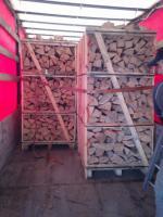 Foto 3 Kaminholz Buche Kamin fertig ges�gt und gespalten Deutschland weite Anlieferung mit LKW